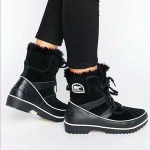 Sorel Tivoli II Winter Boots Black Waterproof